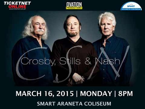 Crosby, Stills and Nash Live in Manila 2015