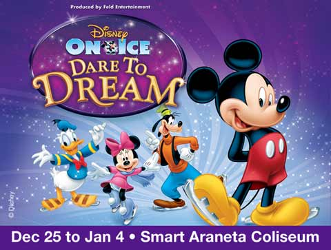 Disney on Ice 2014 at the Smart Araneta Coliseum