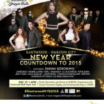 Eastwood New Year Countdown to 2015