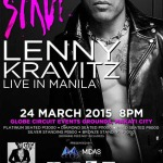 Lenny Kravitz Live in Manila 2015 Cancelled
