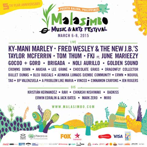 Win 3-Day Passes to watch Malasimbo Festival 2015