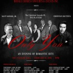 Matt Monro Jr, The Platters and Christian Bautista Valentine's Day Concert 2015