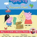 Peppa Pig Live! Treasure Hunt in Manila 2015