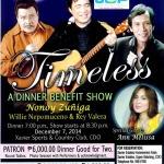 Timeless – A Dinner Benefit Show