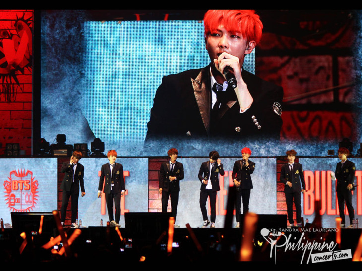 BTS: The Red Bullet Hits Manila with a Bang