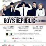 Boys Republic Live at Megaworld Lifestyle Malls