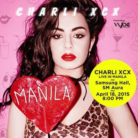 Charli XCX Live in Manila 2015