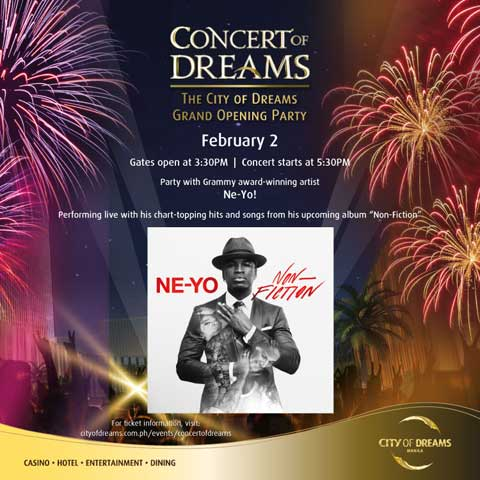 Concert of Dreams featuring Ne-Yo