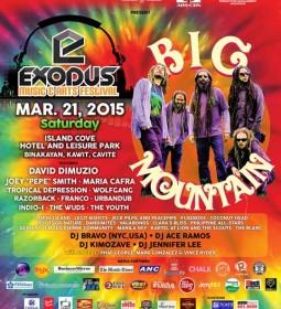 Exodus Music & Arts Festival 2015