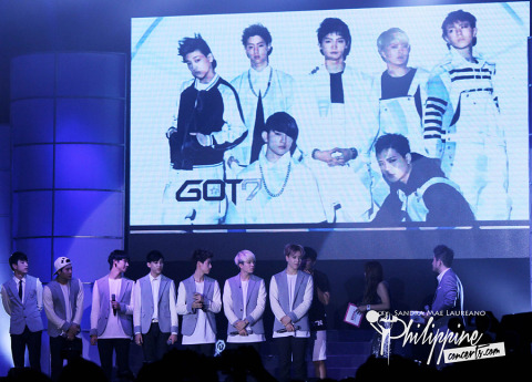 Got 7 Live in Manila - Kpop Convention 2014