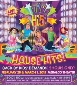 Hi-5 House Hits! Live in Manila 2015