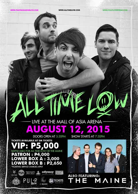 All Time Low Live in Manila 2015 with The Maine