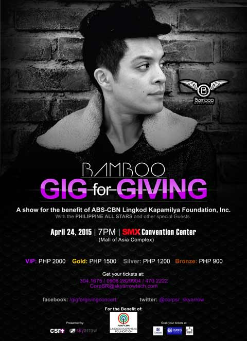 Bamboo Gig for Giving Benefit Concert