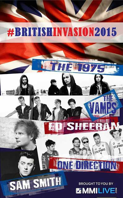 British Invasion 2015 Concerts