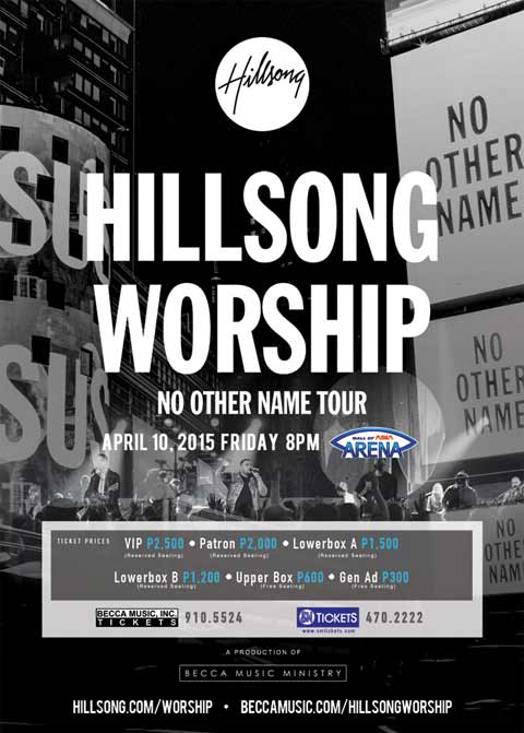 Hillsong Worship Live in Manila 2015