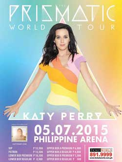 Katy Perry Live in Manila Tickets