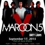 Maroon 5 Live in Manila 2015