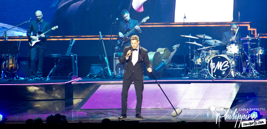 Michael Buble Live in Manila Photo Gallery | Philippine Concerts