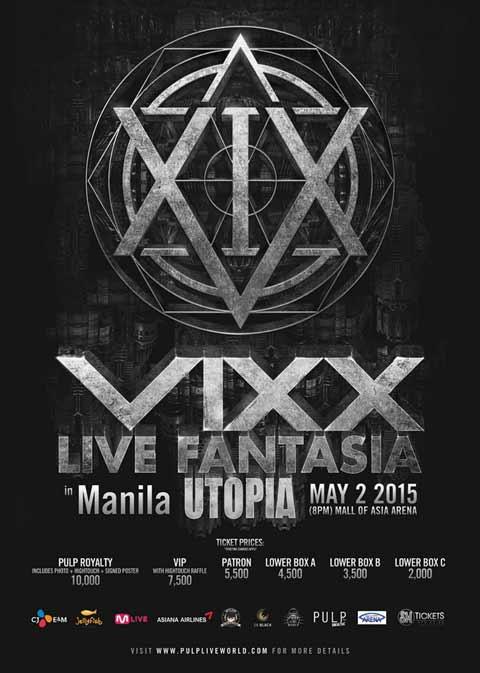 VIXX Live in Manila 2015