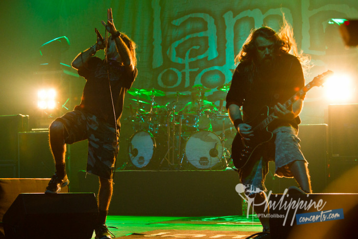 Lamb of God Live in Manila Photo Gallery