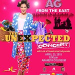 Alex Gonzaga – AG from the East; The Unexpected Concert