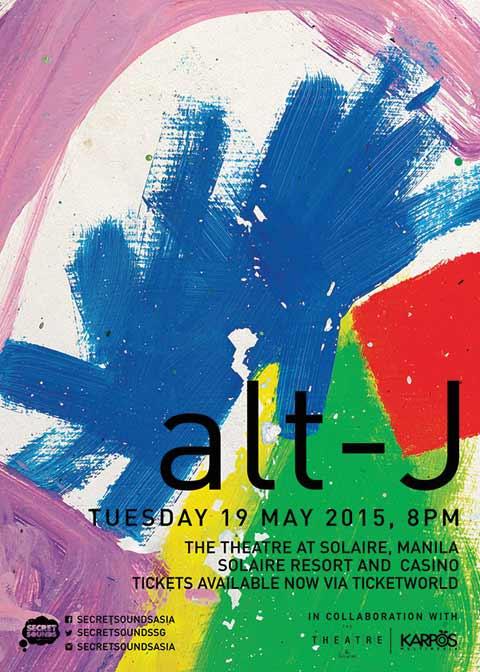 alt-J Live in Manila 2015