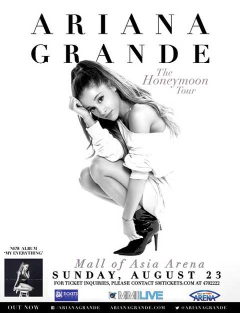 Ariana Grande Live in Manila 2015