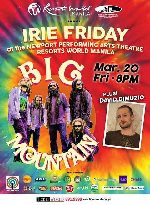 Big Mountain plus David DiMuzio Live in Manila 2015
