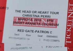 Christina Perri Ticket Promo