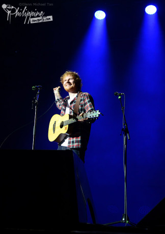 Ed Sheeran Entrance