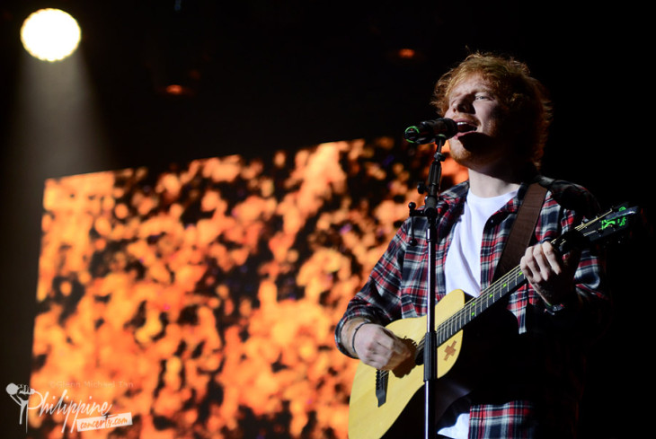 Ed Sheeran Live in Manila Photo Gallery