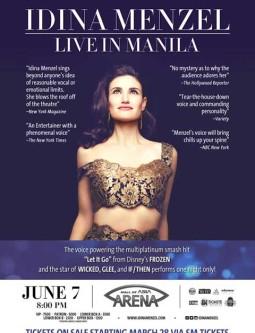 Idina Menzel Live in Manila 2015