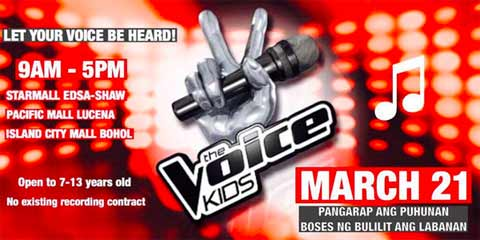 The Voice Kids Season 2 Auditions