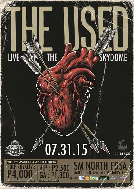 The Used Live in Manila 2015