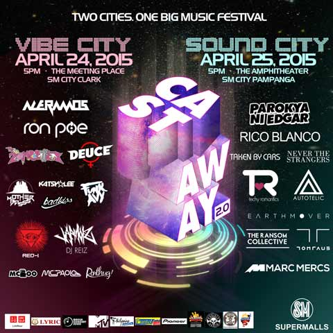 Castaway 2.0 Music Festival - Vibe City and Sound City