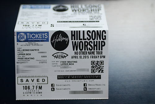 Win Tickets to watch Hillsong Worship Live in Manila