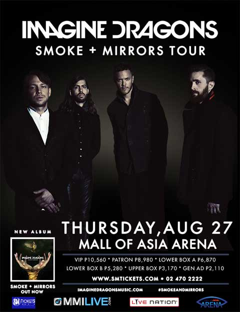 Imagine Dragons Live in Manila 2015