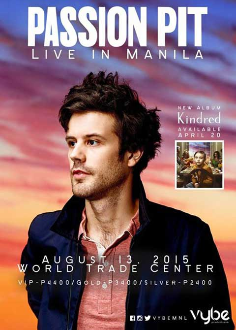 Passion Pit Live in Manila 2015 Cancelled