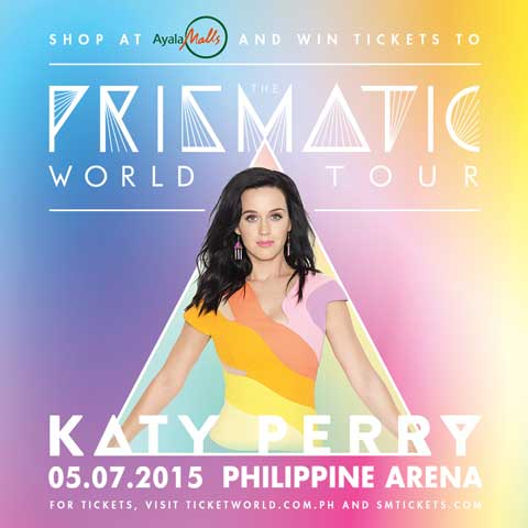 Shop at Ayala Malls and Win Katy Perry Tickets