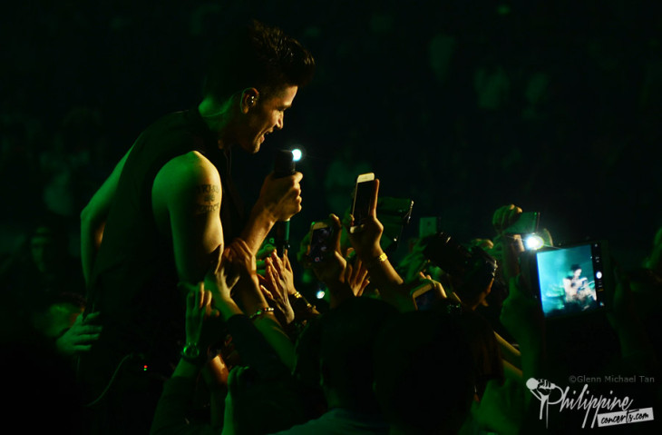 Hope Personified: The Script Inspires Manila Anew