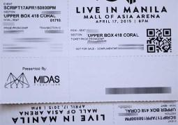 The Script Live in Manila Ticket Promo