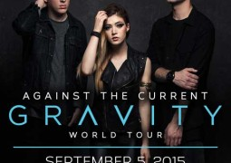 Against The Current Live in Manila 2015