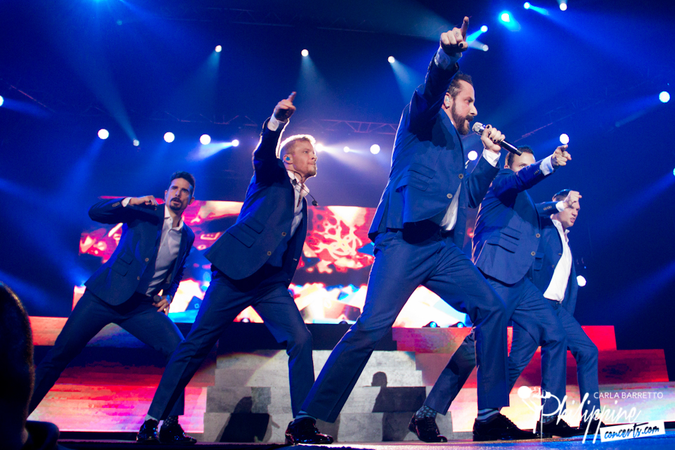 Backstreet Boys Live in Manila 2015 Photo Gallery ...