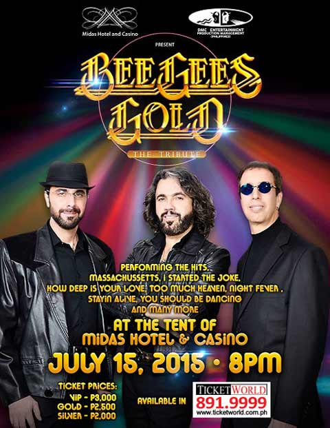 Bee Gees Gold: The Tribute Live in Manila 2015