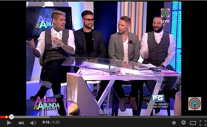 Boyzone at Aquino & Abunda Tonight Video