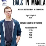 Braiden Wood Live in Manila 2015
