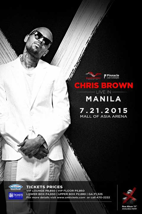 Chris Brown Live in Manila 2015