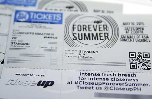 Win Tickets to watch CloseUp Forever Summer 2015