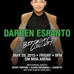 Darren Espanto Birthday Concert at MOA Arena