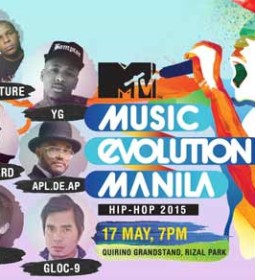 MTV Music Evolution Manila 2015